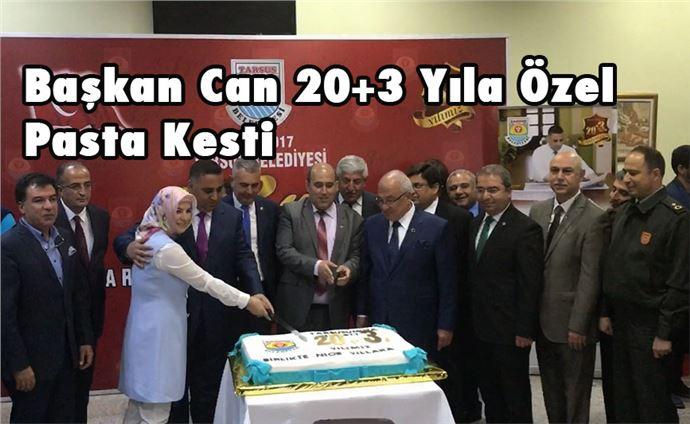 Başkan Can 20+3 Yılına Özel Pasta Kesti